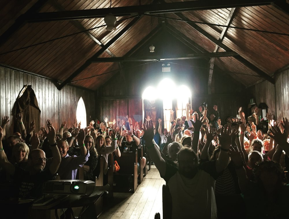 Premiere screening at Indietracks Festival