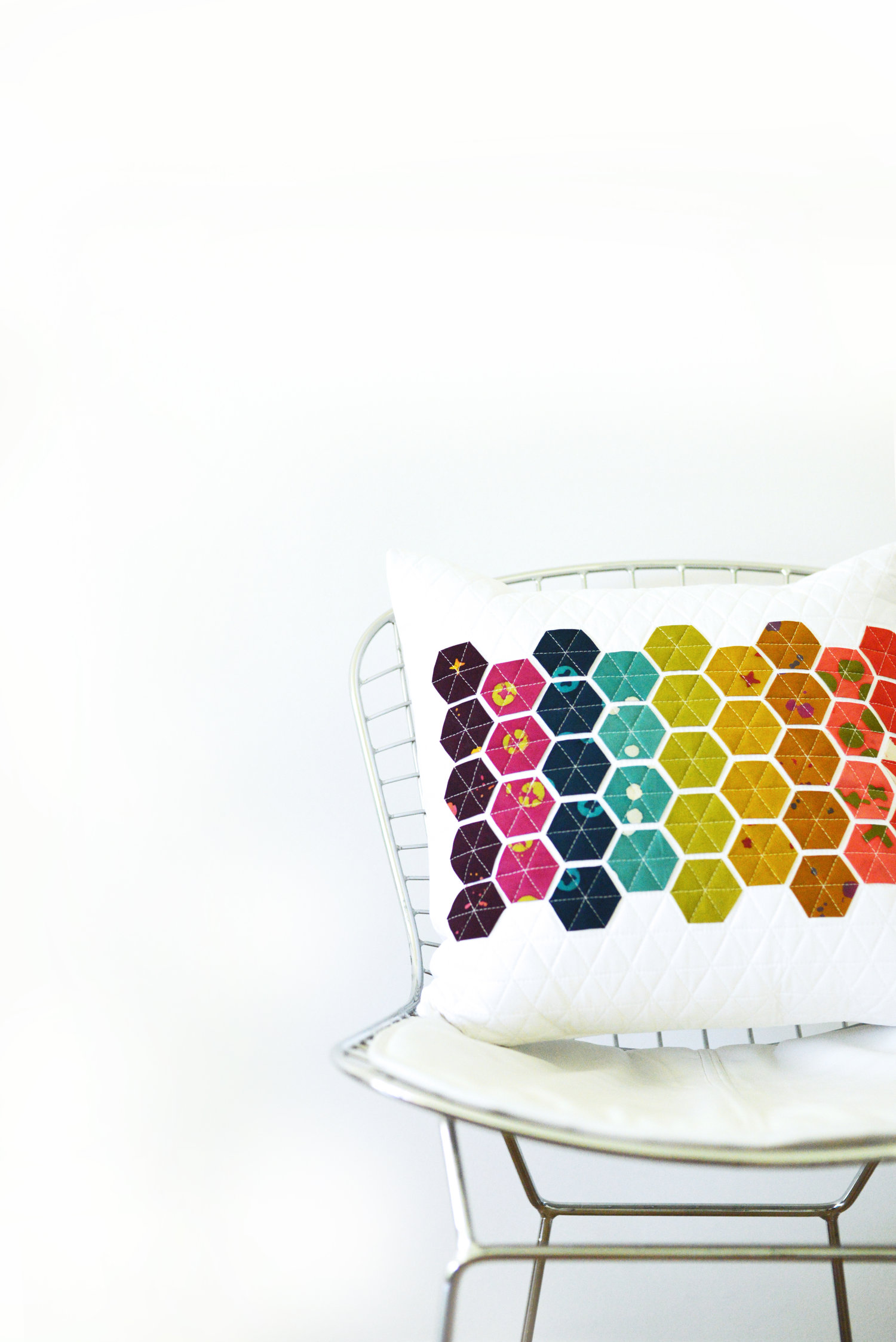 Hexie Pillow Pattern Release Modern Handcraft