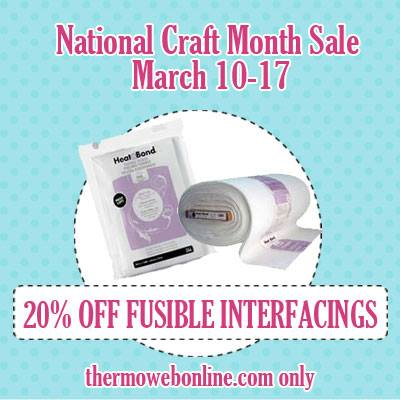 Fusbile interfacings sale