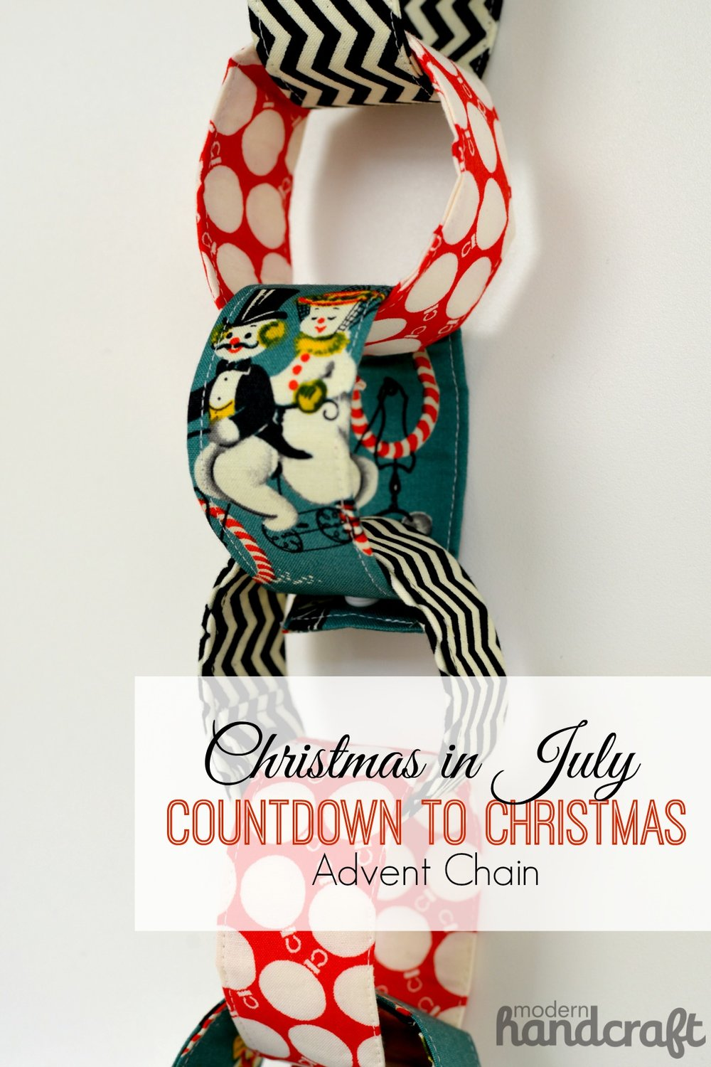 Ho Ho Ho And On We Sew Countdown To Christmas Advent Chain