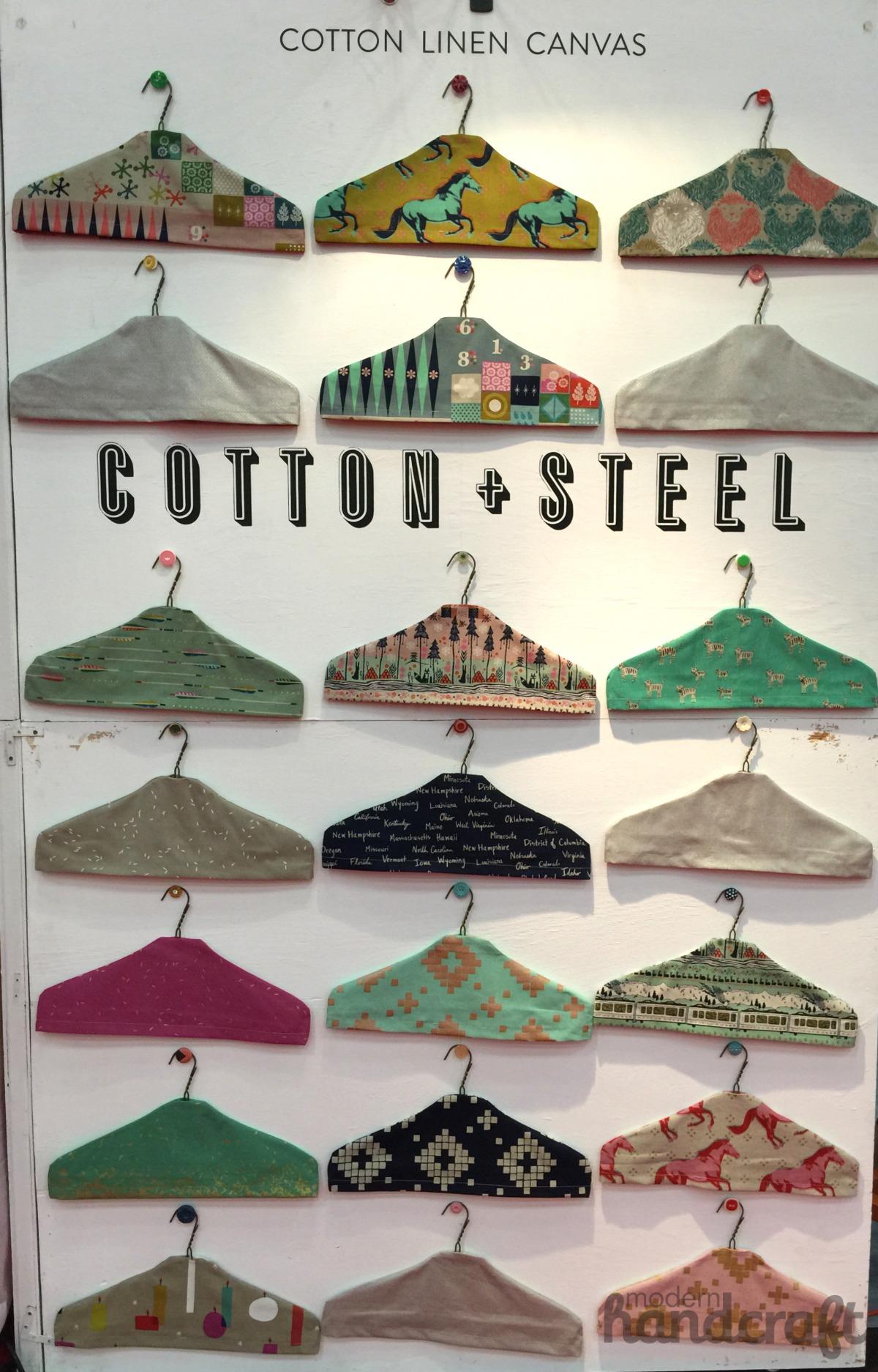 Modern Handcraft - Fall Quilt Market 2014 // Cotton + Steel