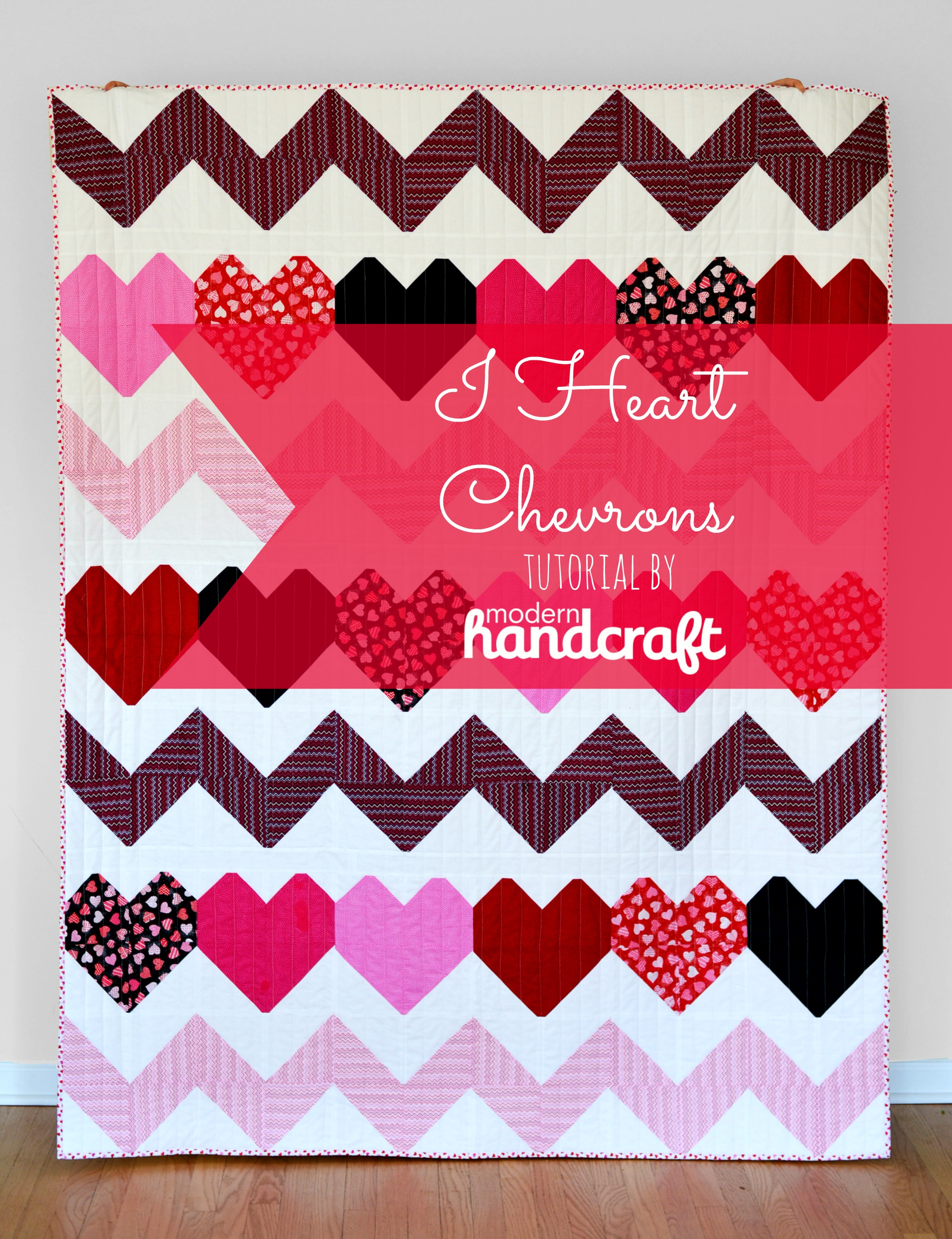 Modern Handcraft // I Heart Chevrons Tutorial