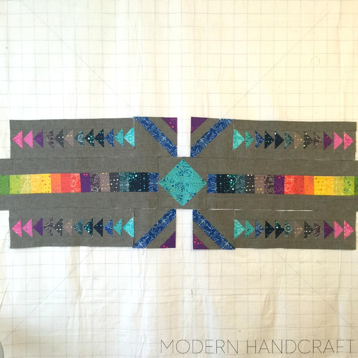 Modern Handcraft // Timber Quilt Along