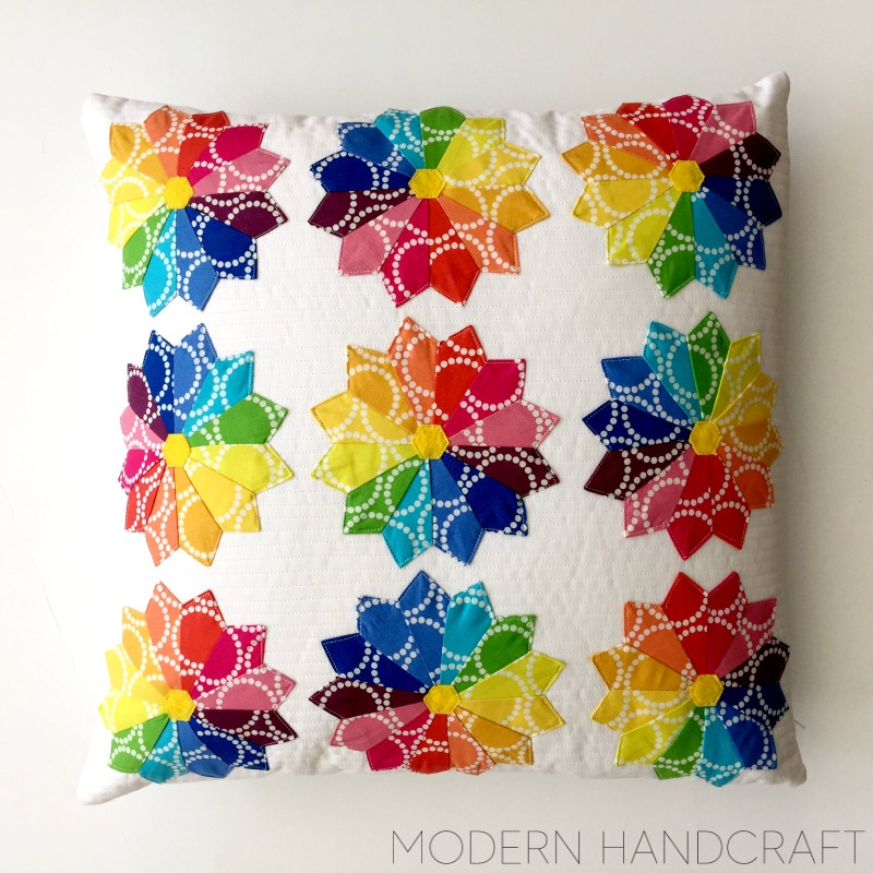 Modern Handcraft for Sizzix // Mini Dresden Pillow Tutorial