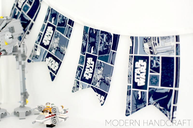 Modern Handcraft // Star Wars Big Banner Tutorial: Sizzix