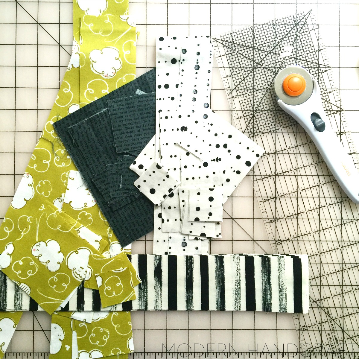 Modern Handcraft // Panda-Monium with Fat Quarter Shop