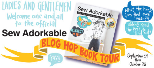 Modern Handcraft // Sew Adorkable Blog Hop Tour: 8 Bit Birds