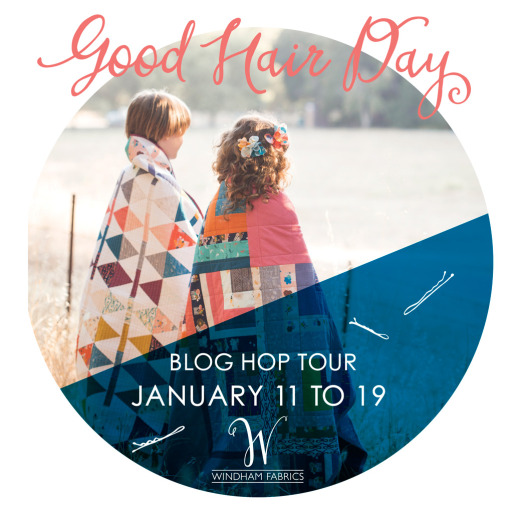 Good Hair Day Blog Hop // Modern Handcraft