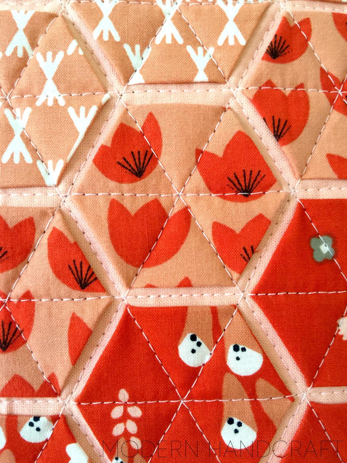 Modern Handcraft: Foxglove fabric by Aneela Hoey