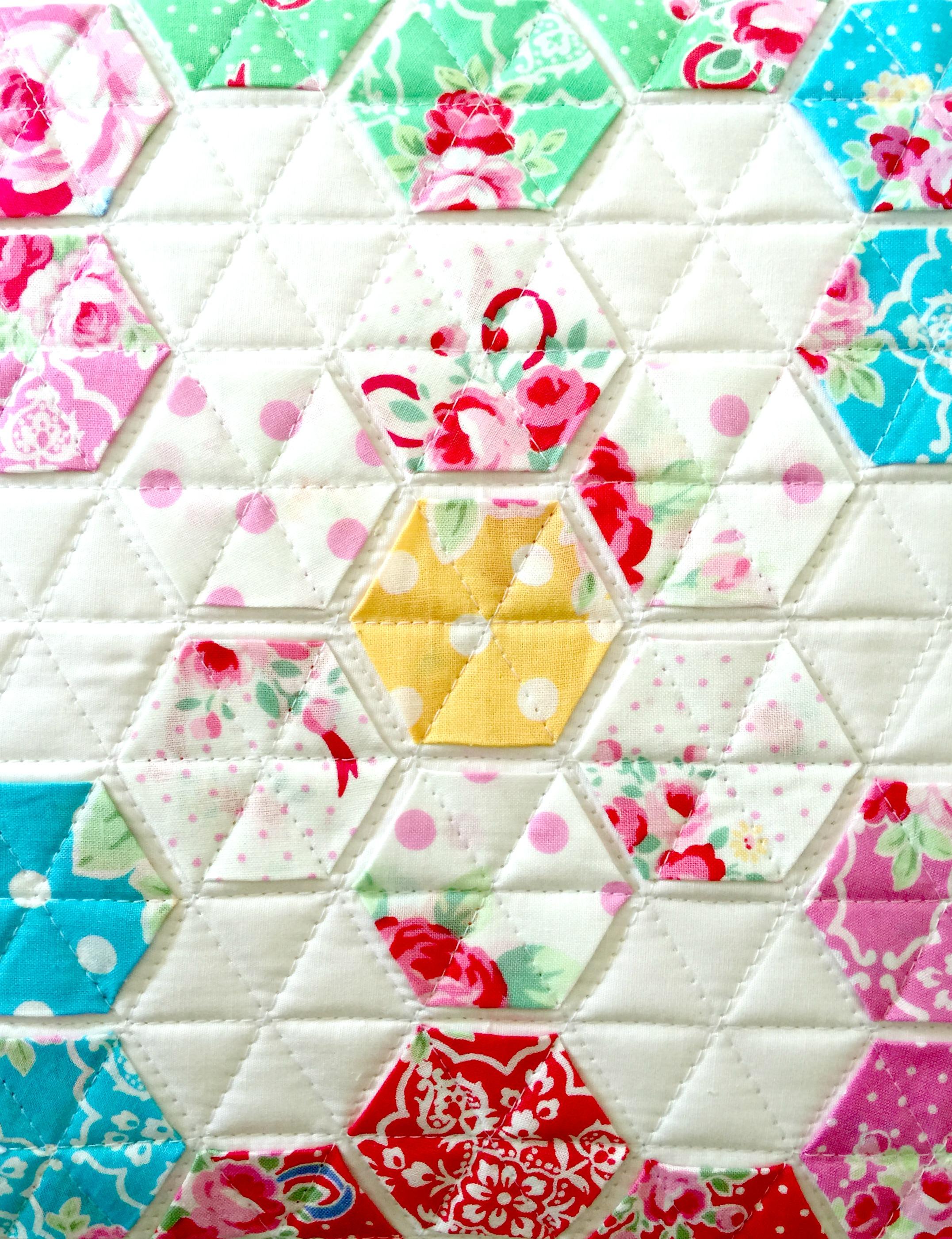 Modern Handcraft Fabric Love // Flower Sugar - Sweet Carnival