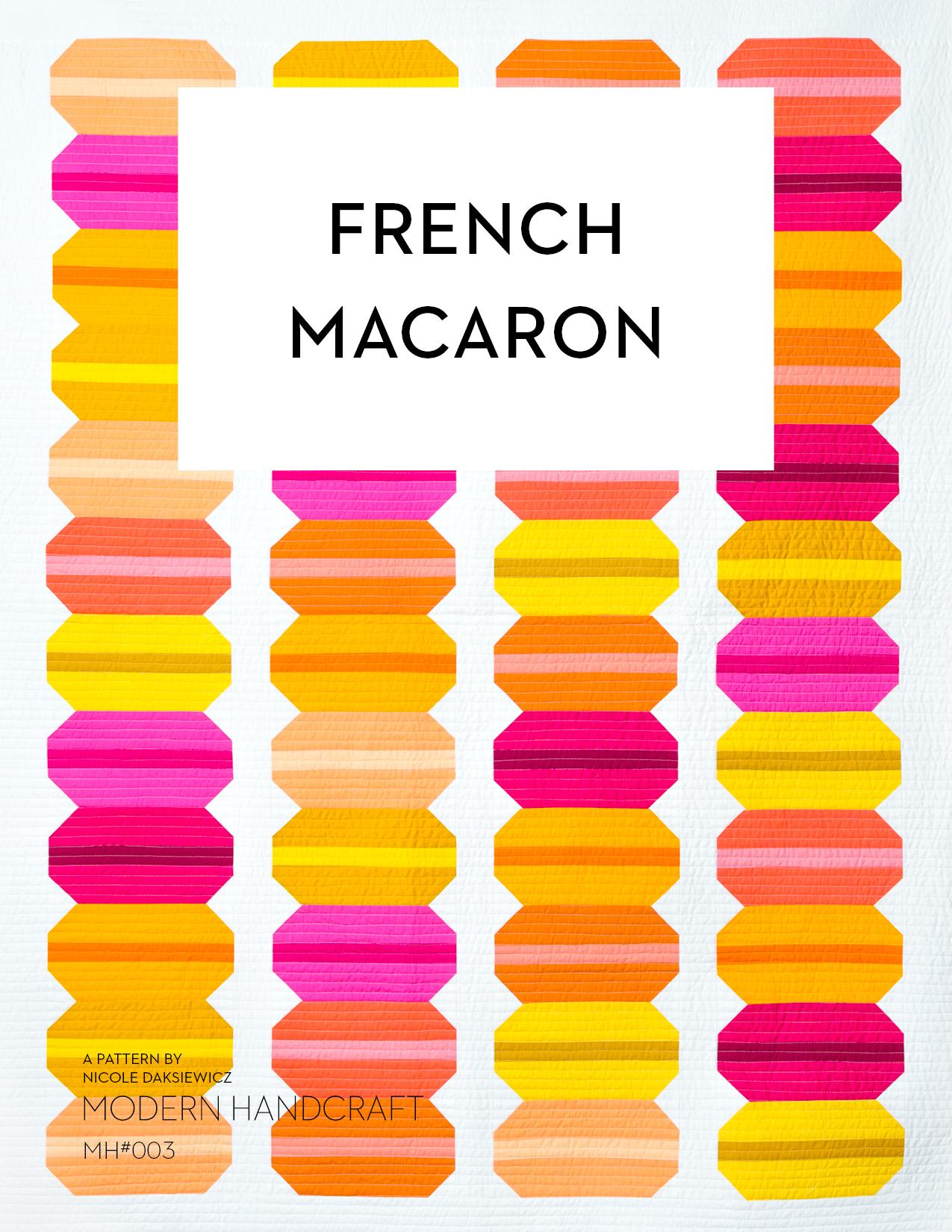 Modern Handcraft French Macaron Quilt
