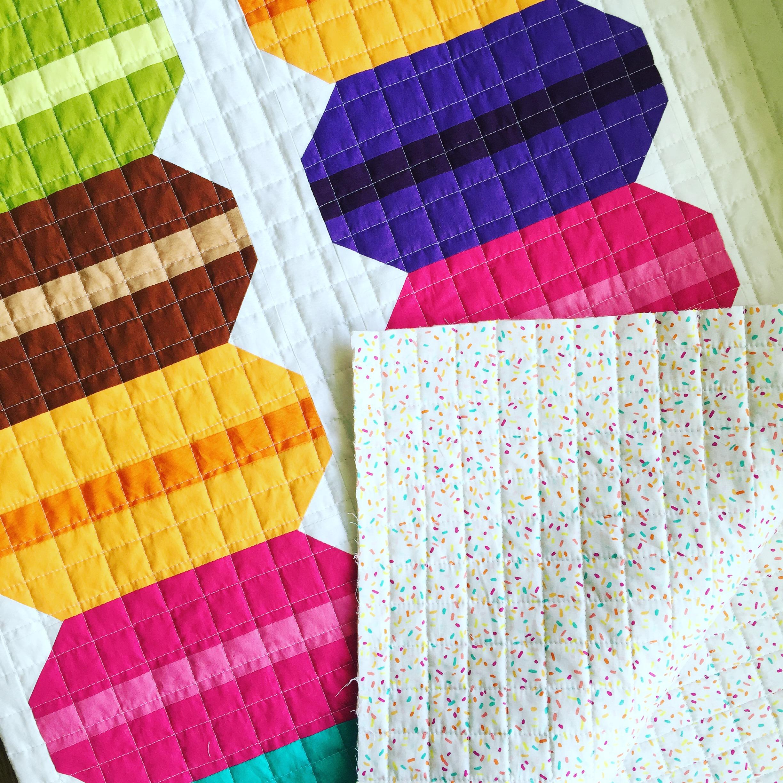 Modern Handcraft // French Macaron Quilt Pattern