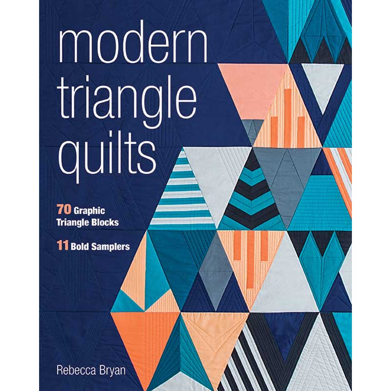 Modern Handcraft // Modern Triangle Quilts Blog Hop