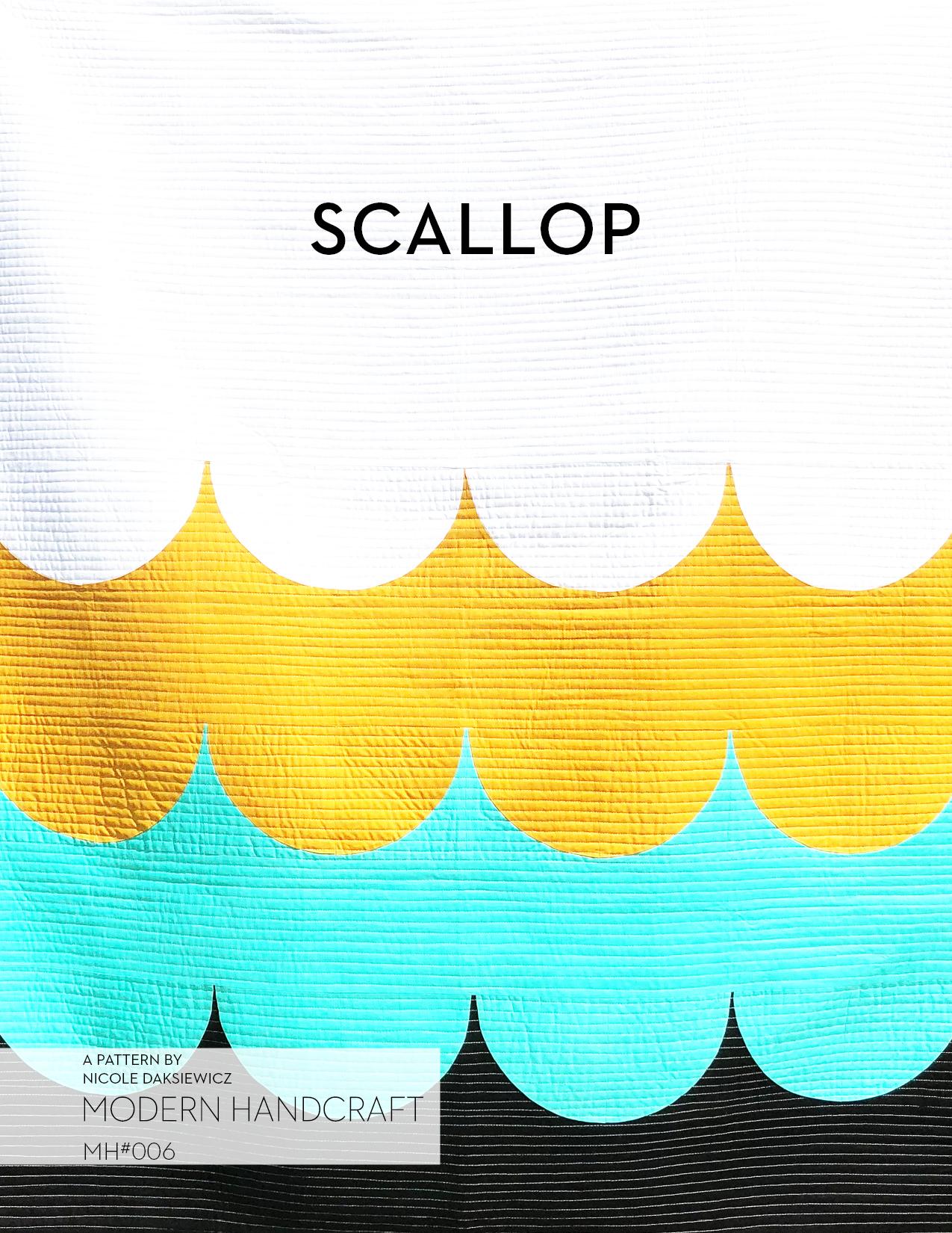 Scallop Quilt PDF Pattern — Modern Handcraft