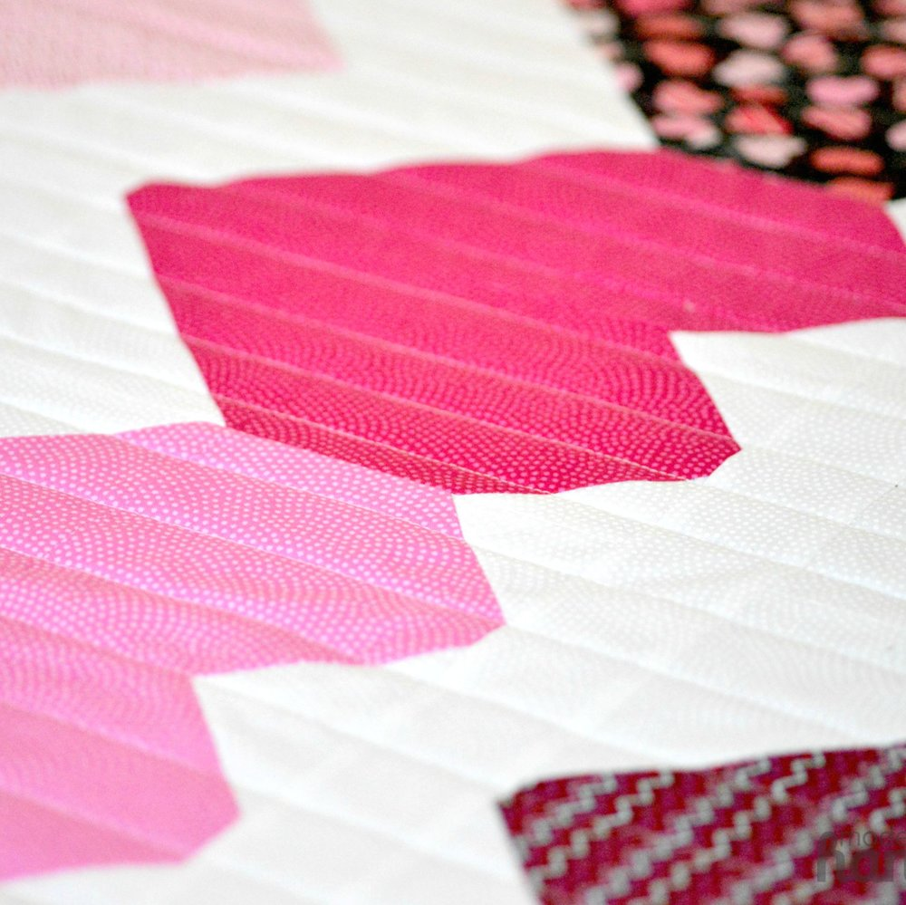 I Heart Chevrons Quilt -