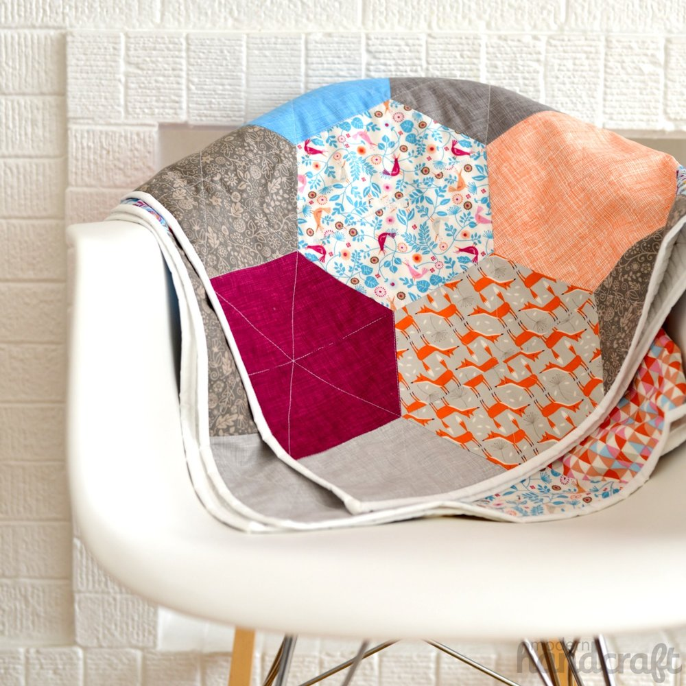 Hexagon Snuggle Quilt - Sizzix Tutorial