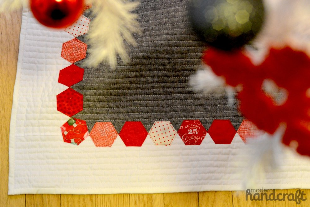 Hexagon Tree Skirt -