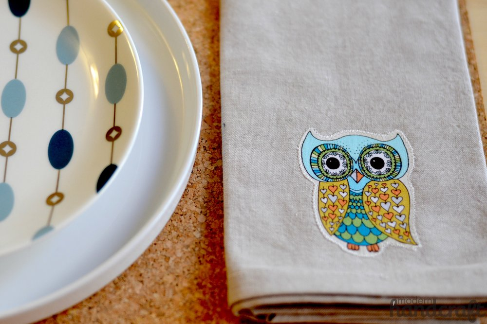 Fall Owl Napkins -