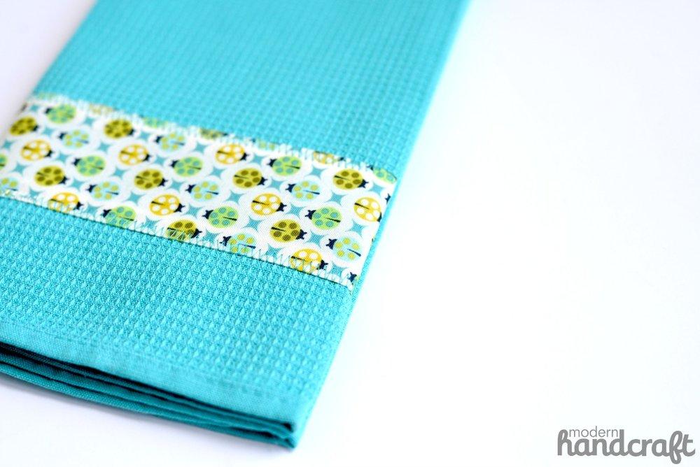 Quick Decorative Towel -