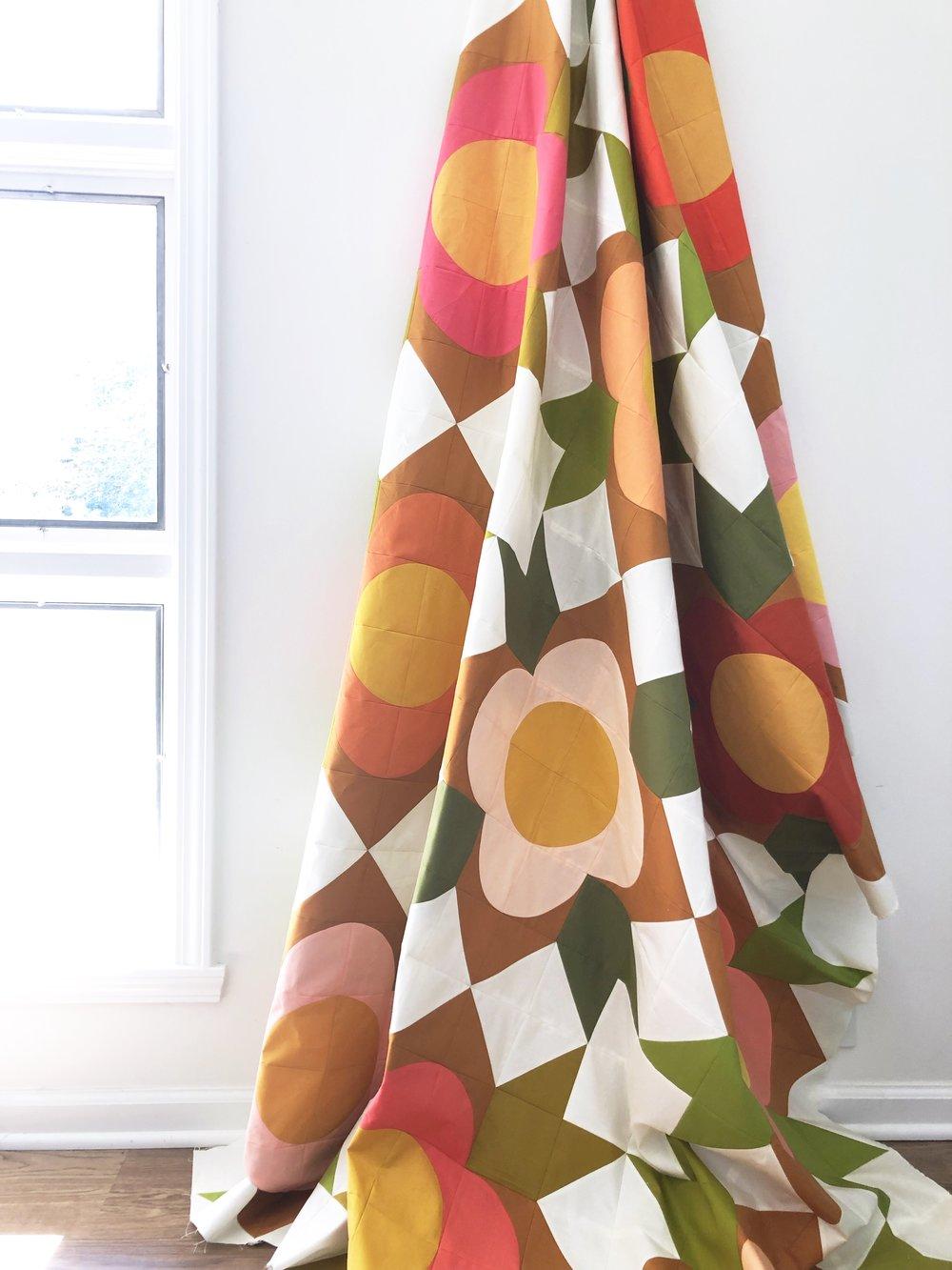 Flower Shop Quilt / Modern Handcraft