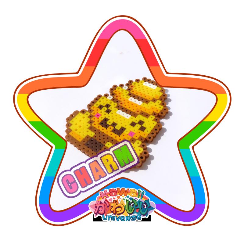 Kawaii Universe - Cute Beehive Macro Charm