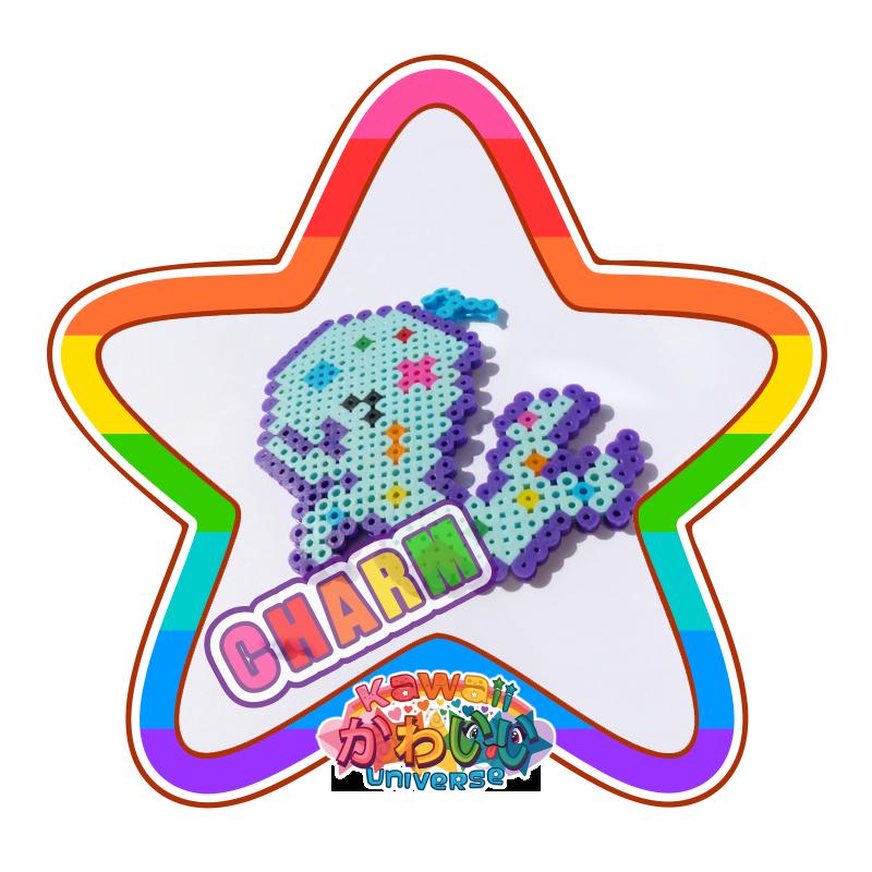 Kawaii Universe - Cute Polk-a-dot Whale Charm