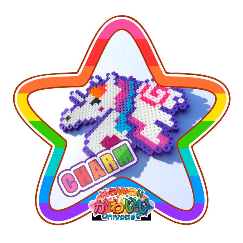 Kawaii Universe - Cute Pegacorn Unicorn Macro Charm