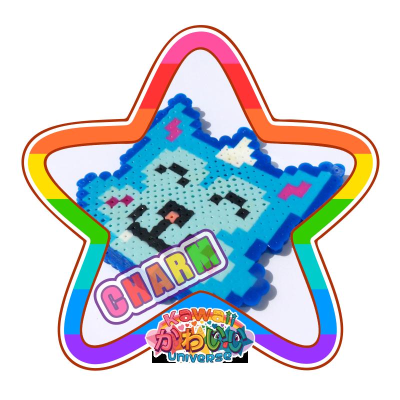 Kawaii Universe - Cute Cat Fox Macro Charm