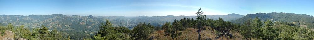 Cima Monte Armelio, Alta Val Trebbia. 35 km from Piacenza, Italy (2008)