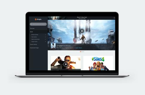 Origin, EA Games