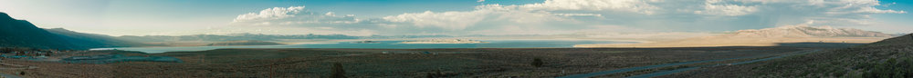 Mono Lake from the Williams Butte vista point, Yosemite Valley, CA (2014)