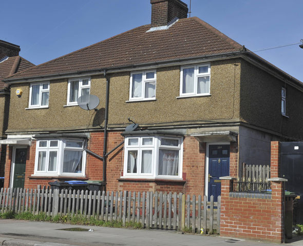 The Enfield Poltergeist house on Green st.