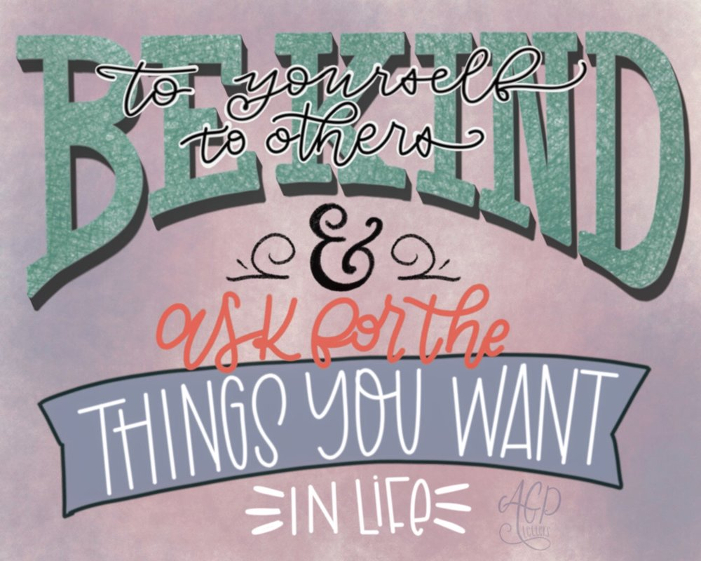 Incredible Lettering By the Lovely Andrea Gibbs!!