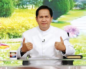 JESUS APPOLO QUIBOLOY summoning you to his bosom.