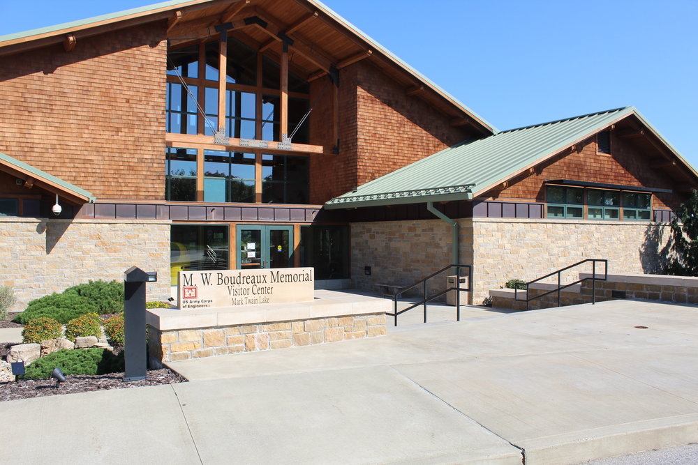 M. W. Boudreaux Visitor Center at Mark Twain Lake, Missouri
