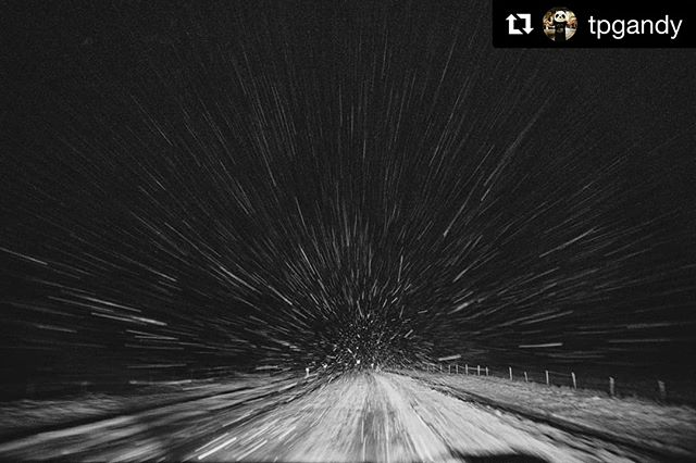 #Repost @tpgandy . #tbt to Iceland and its ridiculous wintery roads. . . . . . #iceland #roads #travel #explore #msphotographer #cold #snow #nikon