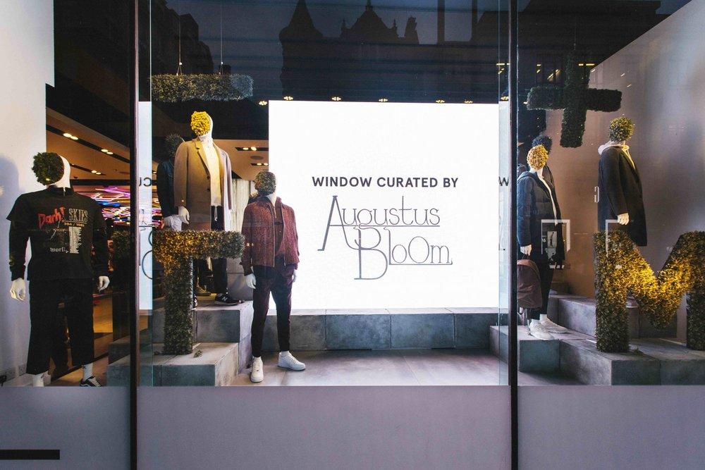 Topman Valentines Window Display