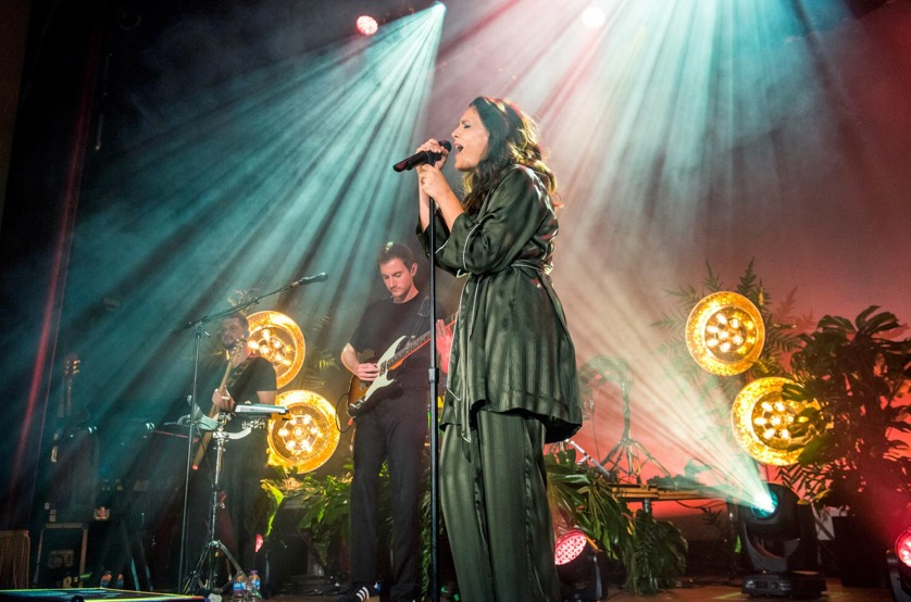 Floral staging for Jessie Ware Concerts