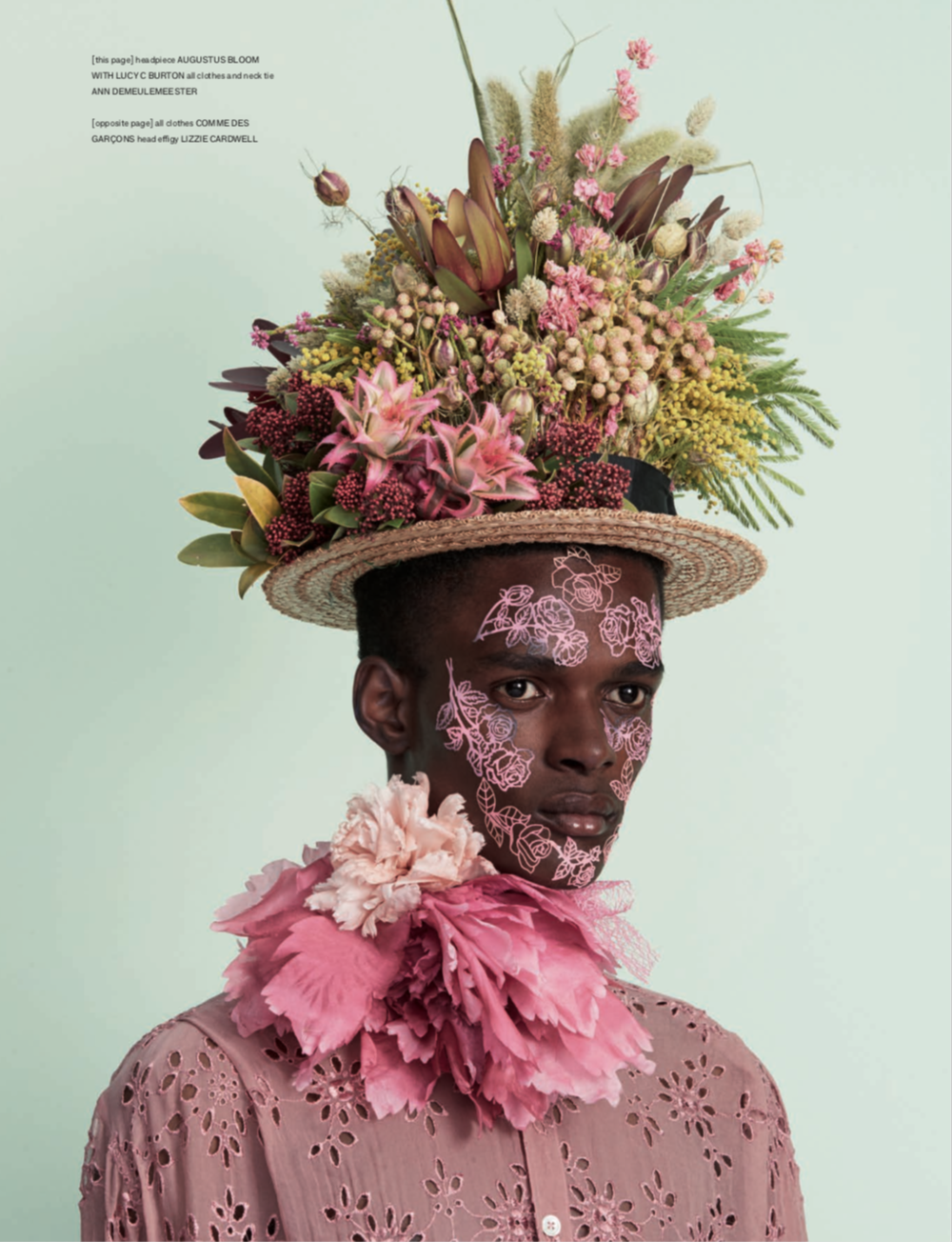 Easter Bonnet Fashion Shoot with Hunger Magazine