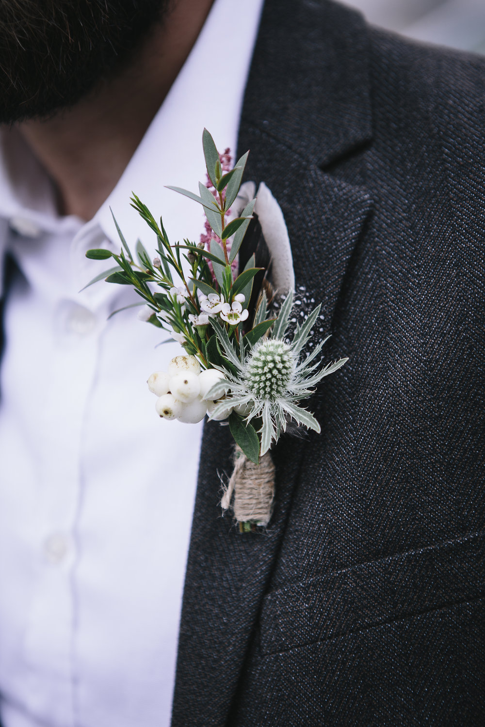 Winter buttonhole