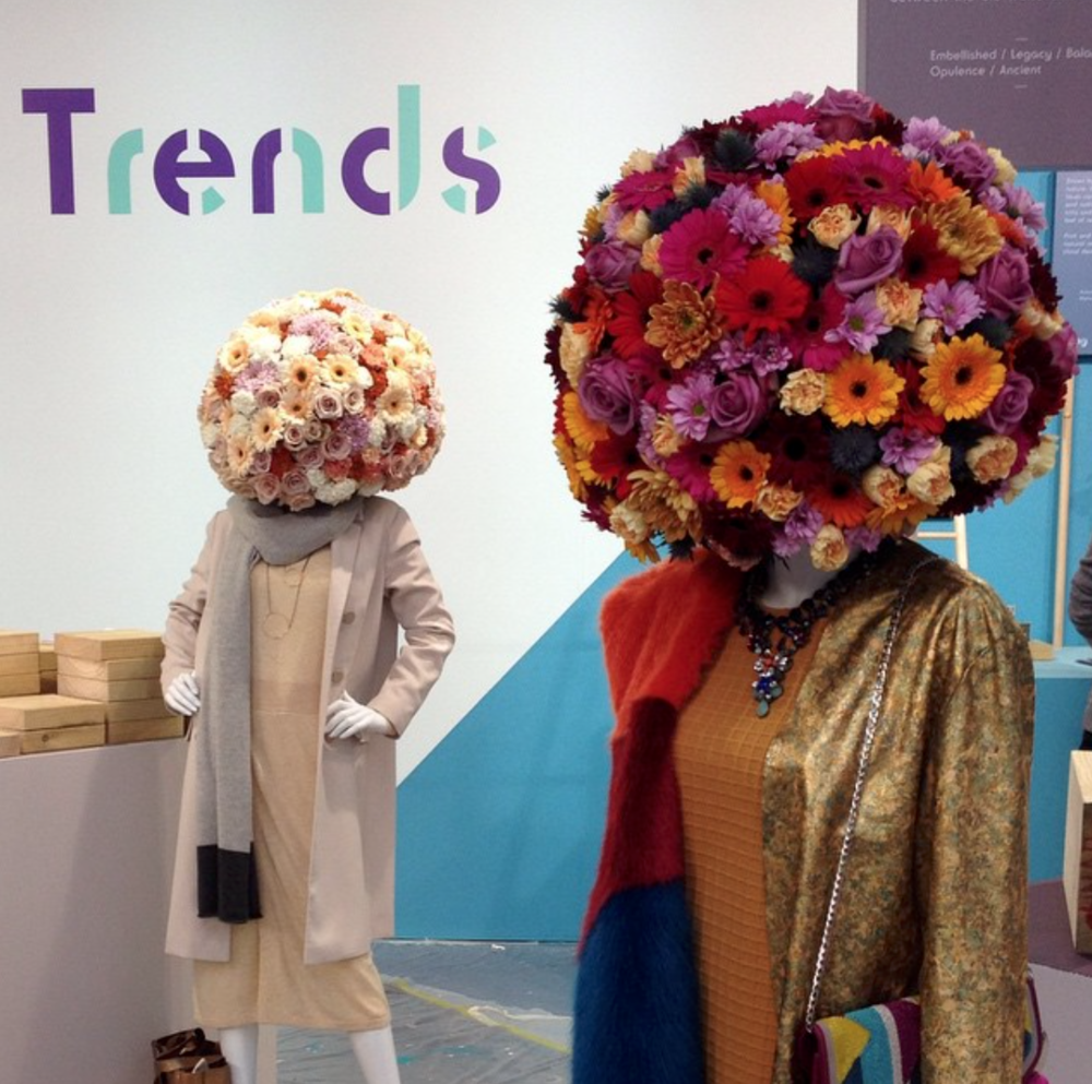 Floral Mannequins for Pulse London at Olympia