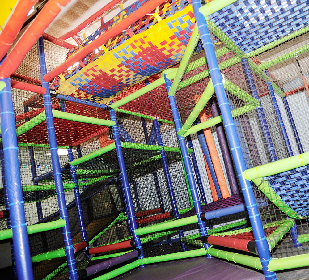 THE PLAY GROUND! CLIMB, SLIDE, SWING, & MORE! - The perfect activity for ages 10 and under! Let your kid's imagination run wild in this play-port full of fun activities! They'll get all their energy out and have the time of their life!