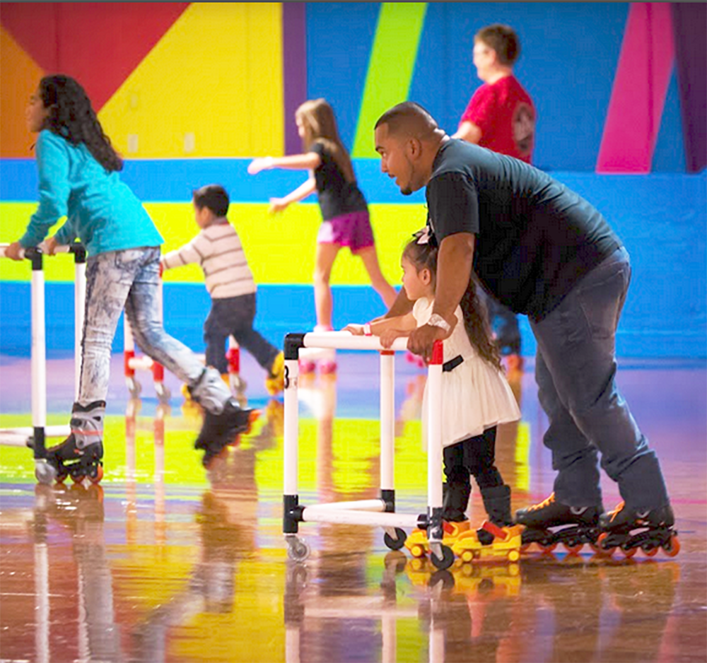 ROLLER SKATING! MEMORIES ARE MADE AT THE RINK! - Almost everyone has a memory of roller-skating. Re-live your memories and help your kids make their own on our industry-best skate floor!
