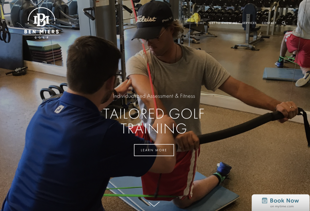 Custom Tailored Golf Physical Therapy Training and Movement Training - www.benmiersgolf.com