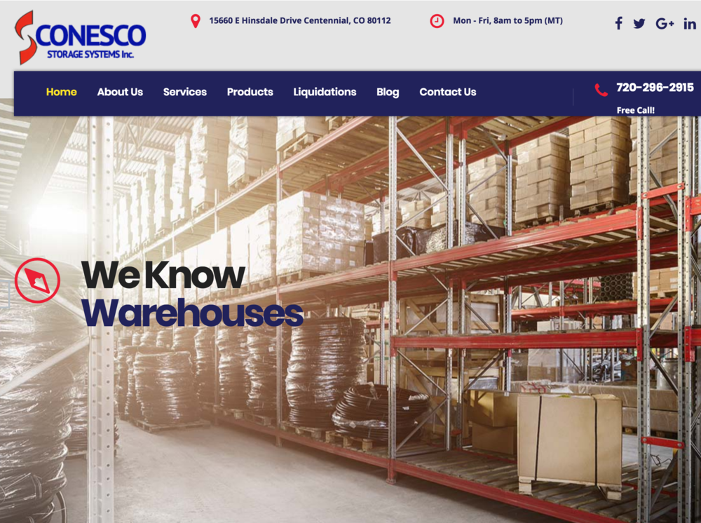 Construction Company: Buying and Selling New and Used Warehouse Equipment - www.conesco.com