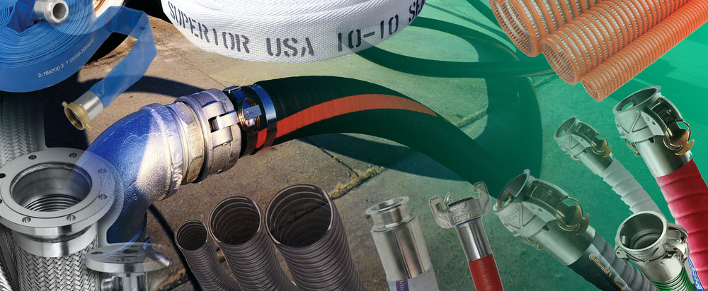 Industrial Hose, Fittings, Couplings & Clamps -