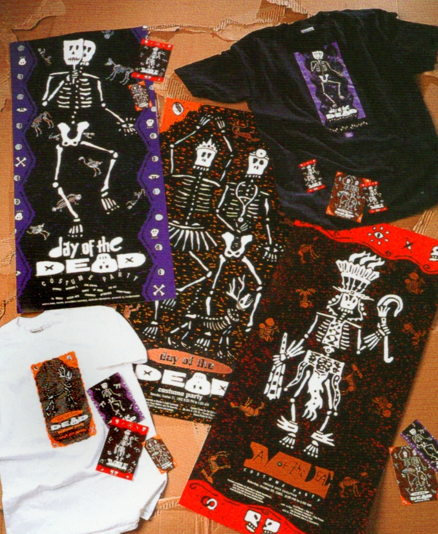 Day of the Dead celebrations collateral