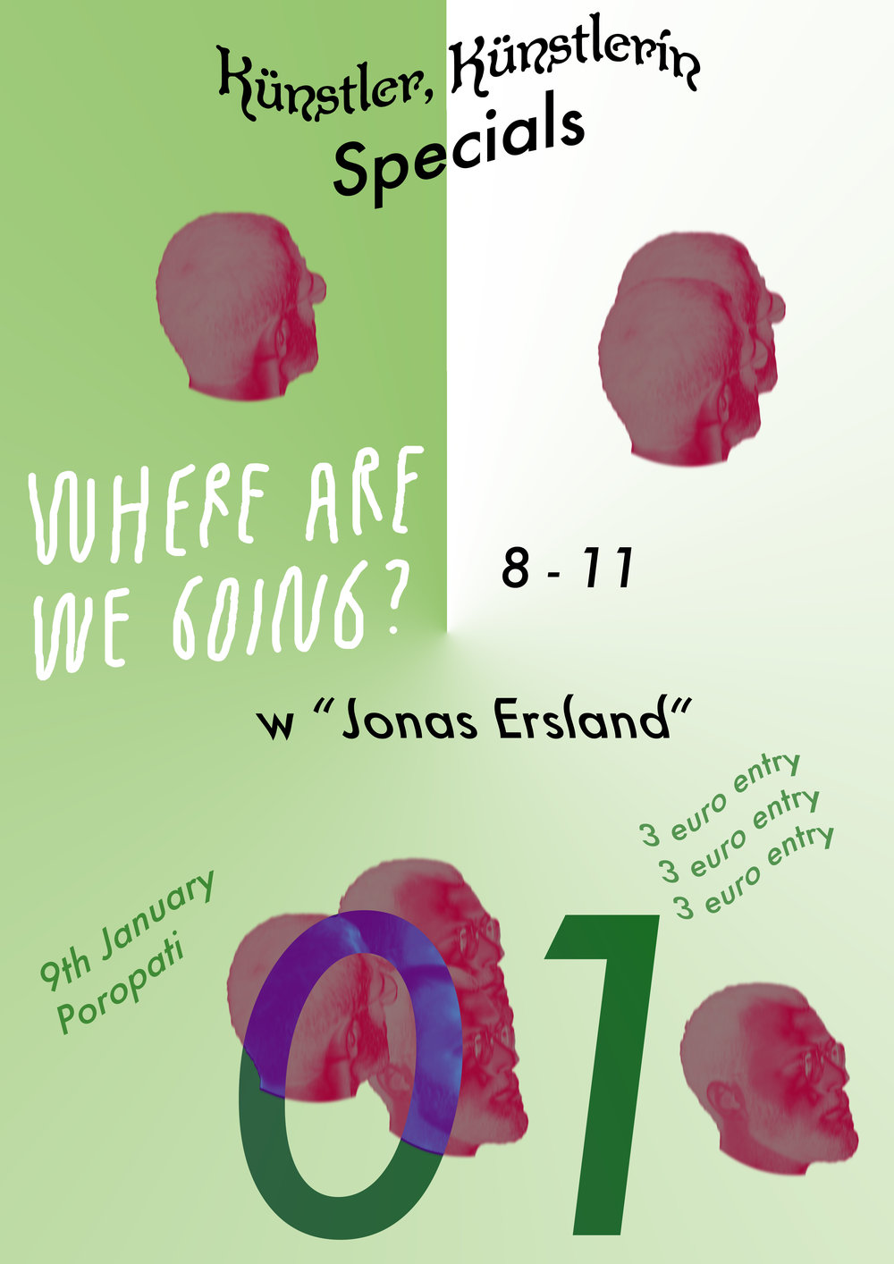 "Künstler, Künstlerin, SP01 ~ ""where are we now?"" w Jonas Ersland"