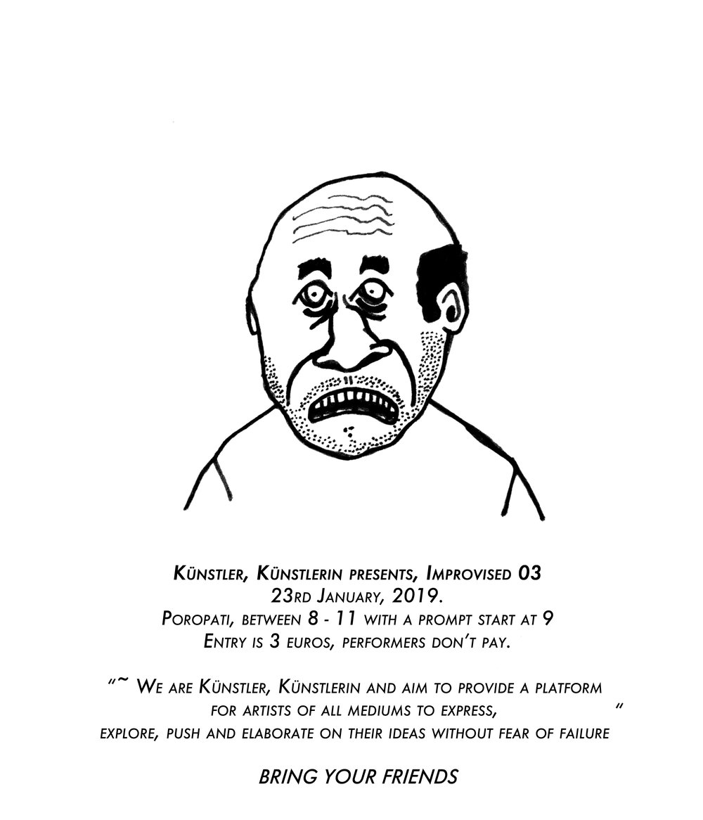Künstler, Künstlerin presents, Improvised 03.jpg