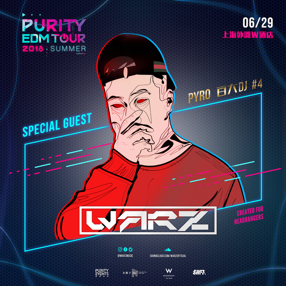PURITY EDM TOUR 2018: Warz